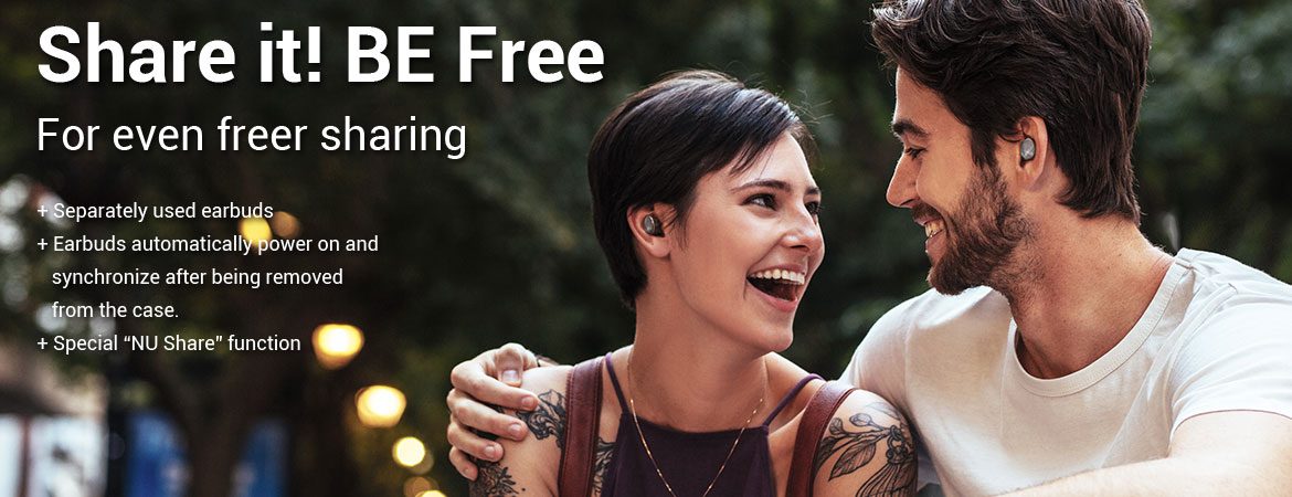 Fitur Utama NuForce BE Free 6 Earphone