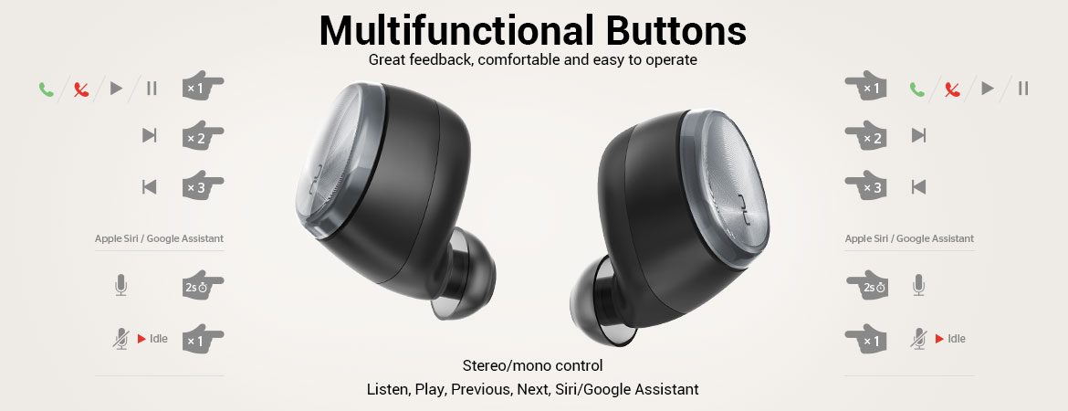 Full Headphone Functionality