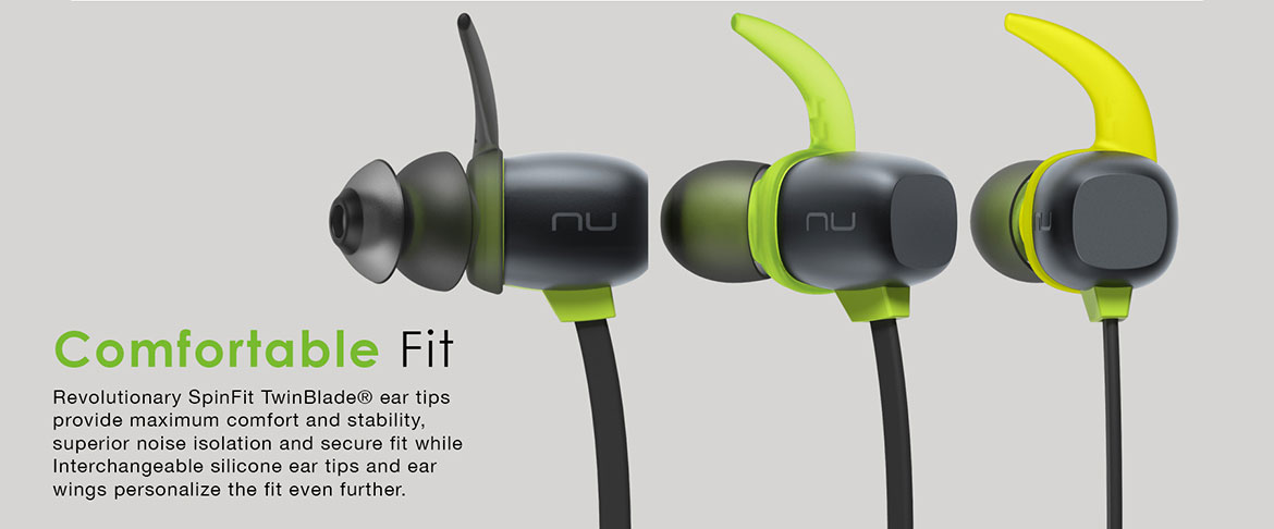 Optoma NuForce BE Sport 4 Premium Wireless Sport Earbuds