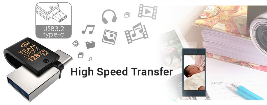 High Speed Transfer is Only a Click Away