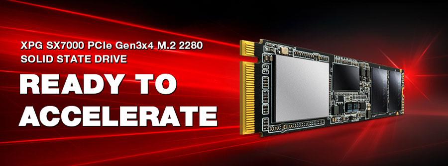 Banner Adata SSD SX7000