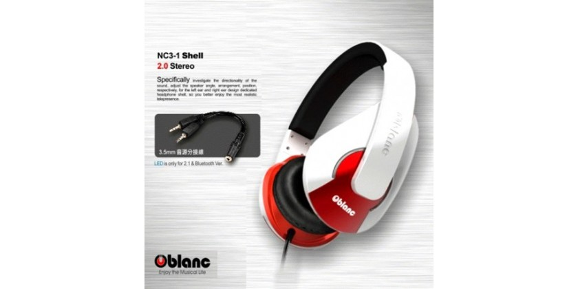OBLANC STEREO HEADPHONE TYPE SHELL200