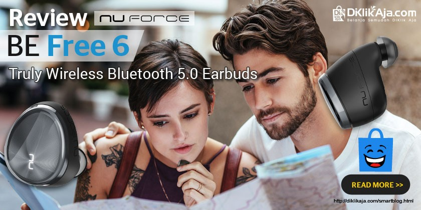 Review Optoma NuForce BE Free6 Truly Wireless Earbuds Extra Bass