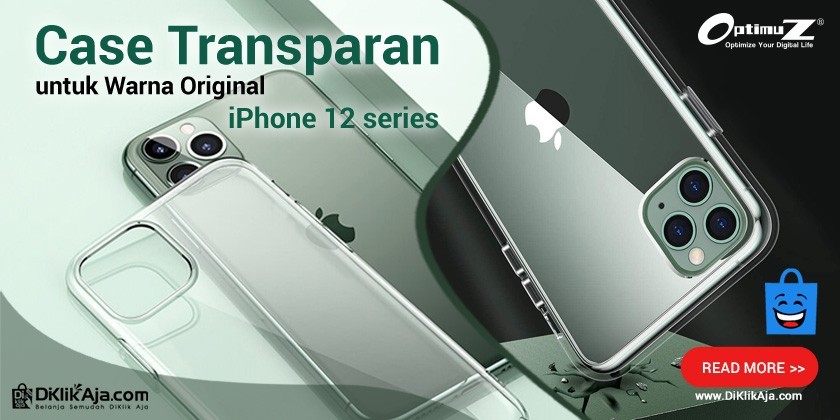 Case Transparan untuk Warna Original iPhone 12 Series