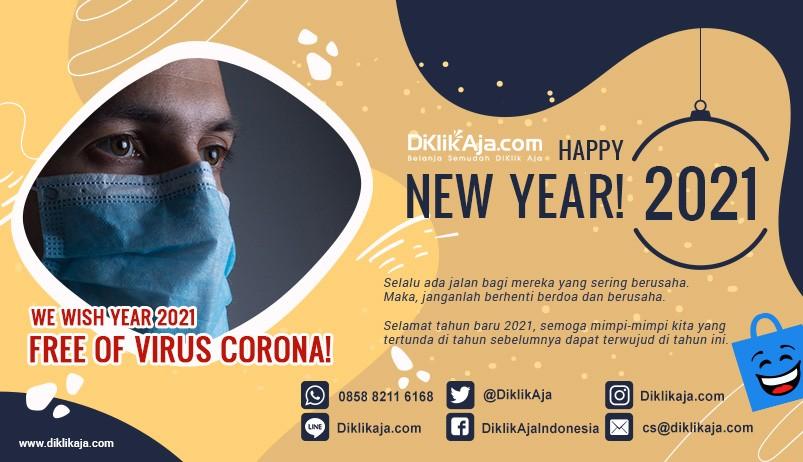 DiKlikAja Happy New Year 2021