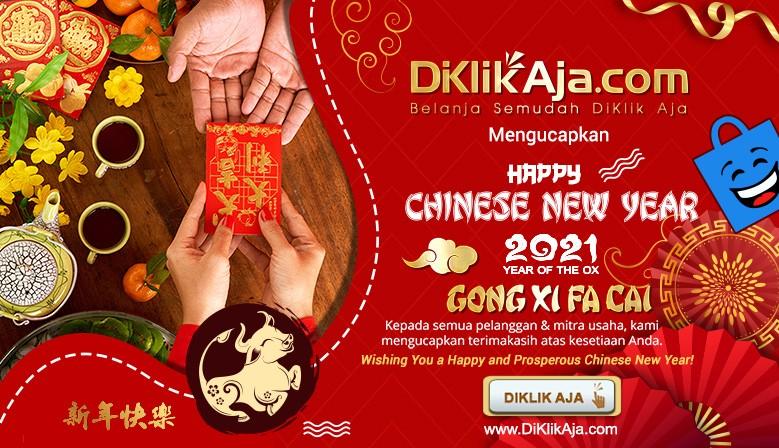DiKlikAja Imlek Chinesse Happy New Year 2021