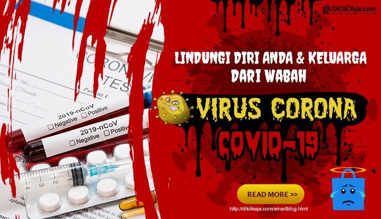 DiKlikAja.com Waspada Virus Corona covid-19