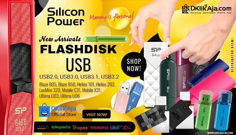 DiKlikAja Produk Baru Flashdisk Silicon Power